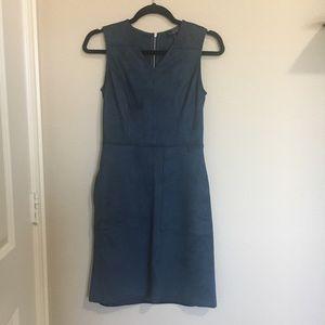 "NWOT Teal ""Suede"" Dress"